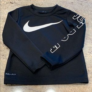 Boys long sleeve NIKE shirt
